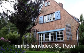 Webvideo eines Landhauses in St- Peter Ording